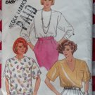 OOP Butterick 3900 Pattern Misses Top, Size L XL, Uncut