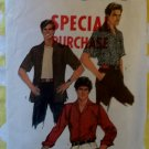 Simplicity 6630 Men's Casual Shirt Pattern, Sz 14 1/2, Chest 36, Uncut
