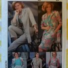 OOP Simplicity 7312 Misses Top Skirt Pants Jacket Dress Pattern, Size 14, Uncut