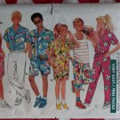 Butterick  3772  Easy Classic Boys Girls Camp Shirt Tank Top Sports Pants Pattern, Size 7-14, Uncut
