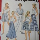 Simplicity 7777 Misses Front Pleated Pants, Shorts, Skirt Sewing Pattern, Size 12 to 16, Uncut