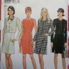 New Look 6553 Misses Princess Seam Dress & Short Jackets Pattern, Size 8 to18, UNCUT