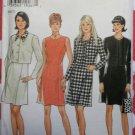 New Look 6553 Misses Princess Seam Dress & Short Jackets Pattern, Size 8 to18, UNCUT