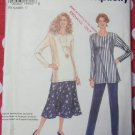 Simplicity 8705  Easy Misses' Skirt, Pants and Top Pattern, Size 6-24 UNCUT