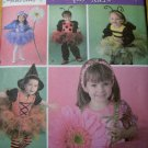 Simplicity 4090 Pattern, Toddler Fairy Ladybug Bumblebee Witch Flower, Sz A ½ 1 2 3 4,  UNCUT OOP