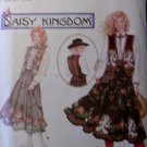Simplicity 8808 Daisy Kingdom Pattern, Western Skirt, Vest, Sash, & Blouse, Sz 6 8 10,  UNCUT