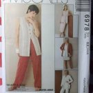 Sew News Easy Cardigan, Tunic, Skirt & Pants McCall's 6978 Pattern Size 4 6 8, Uncut