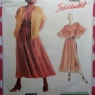 Vogue Individualist Designer Adri 1985 Pattern, Misses' Jacket, Top & Skirt, Sz 14, Bust 36, Uncut