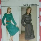 Square Neck Dress Butterick 4584 Pattern, Size 8 to 16, Uncut