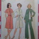 1970s Dress Top & Pants Simplicity 7092 Pattern,  Sz 14, Uncut