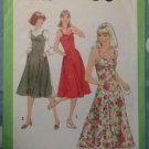 Vintage 1970s 8506 Simplicity Pattern, Junior Petites Sundress or Jumper Size 7jp Uncut