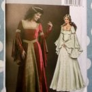 Misses Costume Renaissance Dress Butterick B4571 Pattern, Plus Size 14-20, Uncut