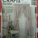 Windows Essentials Curtains, Drapes and Valances, McCalls 4402 Pattern, Uncut