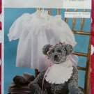 "In search of Teddy Joan Greene 16"" Victorian Bear Gown Bib  Butterick 3933 Pattern , Uncut"