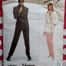 OOP Vogue 2721 Designer Genny Misses Jacket and Pants Pattern, Size 12 14 16, Uncut