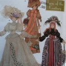 Doll Collector's Club Turn of the Century Fashion Doll Gowns Simplicity 9522 Pattern, Uncut
