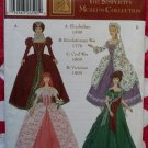 Museum Collection Costumes By Designer Andrea Schewe Simplicity 9521 Pattern, Uncut