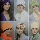 Misses Fleece Hats 6 Styles Simplicity 2494 Sewing Pattern, Uncut