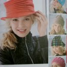 Misses' Fleece Hats 5 Styles Simplicity 1959 Sewing Pattern, Uncut