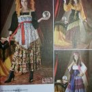 Costume Gypsy & Fortune Teller Simplicity 2331 Pattern, Plus Sz 14 To 22, Uncut