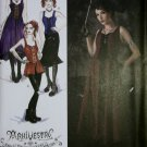 Costume Gothic Haunt Couture Corset Dress & Top Simplicity 2757 Pattern, Plus Sz 14 To 22, Uncut