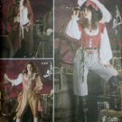 Misses Pirate Costume Simplicity 3677 Pattern, Plus Sz 14 To 20, Uncut