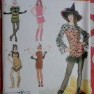 Easy Witch, Lady bug, Bumble bee, Indian & 1960's Simplicity 2324 Pattern, Sz XS To XL, Uncut