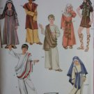 Childs Biblical Passion Play Costumes & Helmet Nativity Simplicity 2976 Pattern, Sz XS To L, Uncut