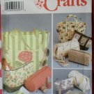 Accessories Tote Bag, Purse, Cosmetic Bags & Tissue Case Simplicity 9949 New Sewing Pattern, Uncut