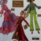 Doll Collector's Club Fashion Doll Savvy Seventies Clothes  Simplicity 9975 Pattern, Uncut