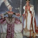 Diva Doll Collection 1 Masquerade ball and Queen Costumes Simplicity 7025 Pattern, Uncut