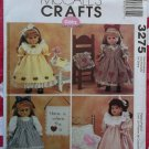 "18"" Doll Clothes McCalls 3275 Pattern, Uncut"
