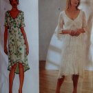 Easy Butterick 4496 Nicole Miller Design Misses Dress Pattern Size 12 14 16, Uncut