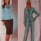 David Warren Misses Jacket, Skirt & Pants Butterick 3918 Pattern, Size 12 14 16, Uncut