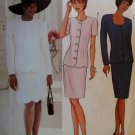 Easy Misses Jacket & Skirt Butterick 3400 Pattern, Size 12 14 16, Uncut