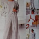 Easy McCall's 8576 Pattern Misses Duster or Jacket Dress Top Pants Sz 12 14 16, Uncut