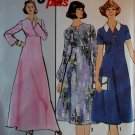 Vintage Simplicity 8257 Easy Womans Dress, Half size 18 1/2 to 20 1/2, Uncut
