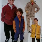 Boys Unlined Jacket Vest Pullover Top Pants Shorts McCall's 2417 Pattern,  Sz 7 to 16, UNCUT