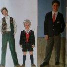 OOP Simplicity 8966 Pattern, Boys Shorts Pants Vest Jacket, Sz 7 8 10 12, UNCUT