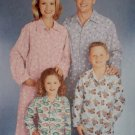 Easy Unisex Child's, Teen's, & Adults' Pajamas Simplicity 0661 Sewing Pattern , Uncut