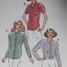 Misses Blouses  Kwik Sew Pattern 2578,  XS, S, M, L, XL, Unopened