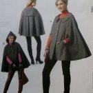 McCalls M6446 Rebecca Turbow Next Generation Misses' Capes Pattern, Size 6 8 10 12, Uncut