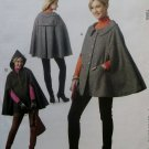 McCalls M6446 Rebecca Turbow Next Generation Misses' Capes Pattern, Plus Size 12 14 16 18 20, Uncut