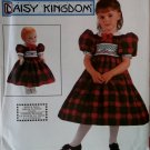 Simplicity 9917 Daisy Kingdom Girl and Doll smocked Dress Pattern, Size 3 4 5 6, Uncut