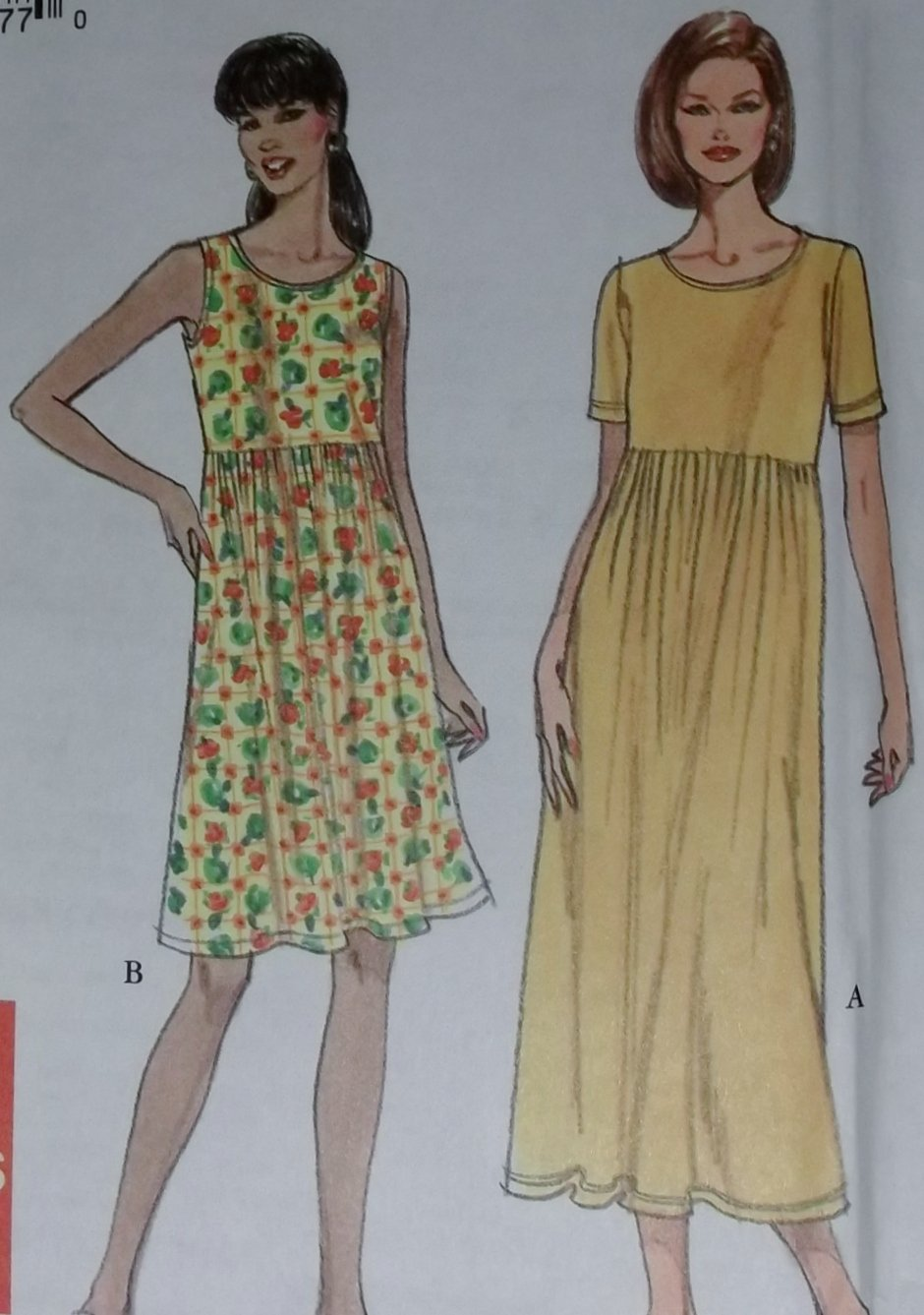 Simple Knit Dress Pattern : Simplicity 8190 Easy Misses Knit Dress Pattern, Size 6-24 UNCUT