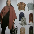 Simplicity 9335 Poncho & Wraps 6 Styles Pattern, One Size, Uncut