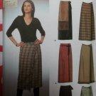 Misses Easy Wrap Skirts Simplicity 9407 Pattern, Sz 6 8 10 12, Uncut