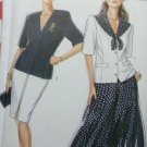 OOP New look 6513 misses Career Separates, Size 6 to 18, Bust 30 1/2  to 42, UNCUT