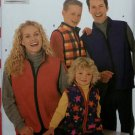 Easy Unisex Child's, Teen's, & Adults' Vest Simplicity 9344 Pattern, All sizes, Uncut