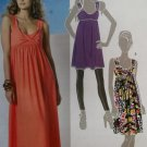 Misses' Tunic & Dress In 2 Lengths, McCalls M6072 Pattern, Sz 6 to 14, UNCUT